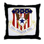 110th FW Throw Pillow