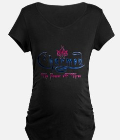 Charmed the power of three Maternity T-Shirt