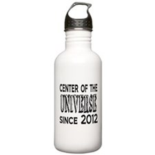 Center of the Universe Since 2012 Water Bottle