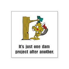 Beaver Dam Sticker