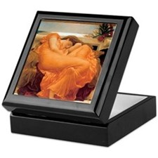 Flaming June-Full Size Keepsake Box