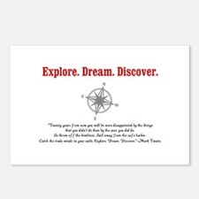 Explore. Dream. Discover. Postcards (Package of 8)