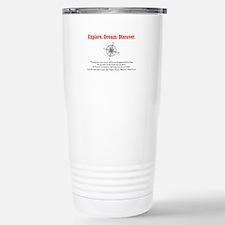 Explore. Dream. Discover. Travel Mug