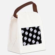 Practice Autism Altruism 12 Black Canvas Lunch Bag
