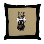Wizard of Oz Introduction Throw Pillow