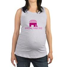 Romney/Ryan Pink Republican Elephant Maternity Tan
