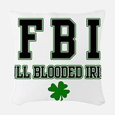 irish Woven Throw Pillow