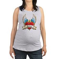 lil sis Maternity Tank Top