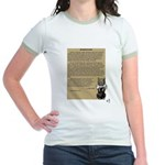 Wizard of Oz Introduction Jr. Ringer T-Shirt
