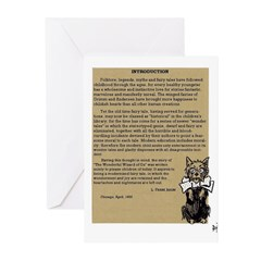 Wizard of Oz Introduction Greeting Cards (Package