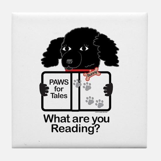 Sunny Puppy Tile Coaster