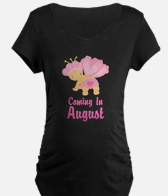 Personalized Baby Girl Maternity T-Shirt