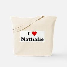 I Love Nathalie Tote Bag