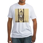 Cowardly Lion II Fitted T-Shirt