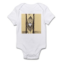 Cowardly Lion II Infant Bodysuit