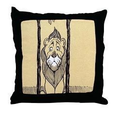 Cowardly Lion II Throw Pillow