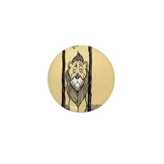 Cowardly Lion II Mini Button (10 pack)