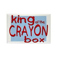 Crayon Box Rectangle Magnet