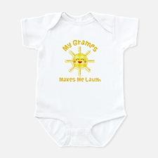 My Gramps Makes Me Laugh Infant Bodysuit