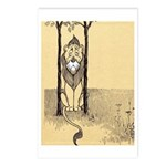 Cowardly Lion II Postcards (Package of 8)