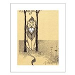 Cowardly Lion II Small Poster
