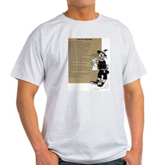 Wizard of Oz Contents Ash Grey T-Shirt