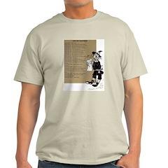 Wizard of Oz Contents Ash Grey T-Shirt