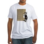Wizard of Oz Contents Fitted T-Shirt