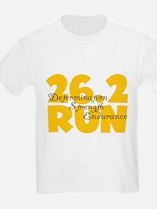 26.2 Run Yellow T-Shirt