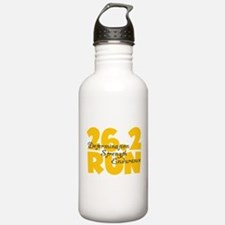 26.2 Run Yellow Water Bottle
