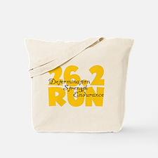 26.2 Run Yellow Tote Bag