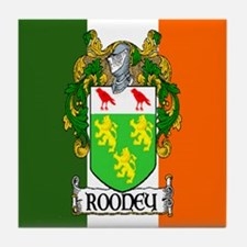 Rooney Arms Flag Tile Coaster