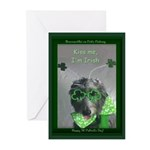 'Kiss Me, I'm Irish' St. Patrick's Cards (10)