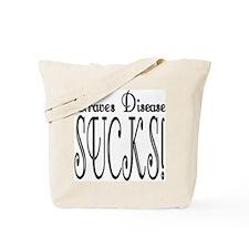 Graves Disease Sucks! Tote Bag