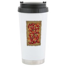 Red Chilli Peppers Travel Mug