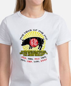 Year of the Pig Qualities Women's T-Shirt
