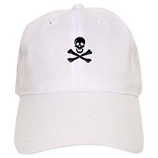 Skull Crossbones Baseball Baseball Cap