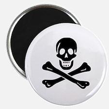 Skull Crossbones Magnet
