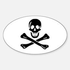 Skull Crossbones Decal
