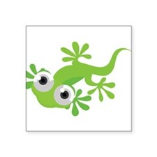 Cartoon Gecko Sticker