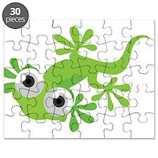 Cartoon Gecko Puzzle