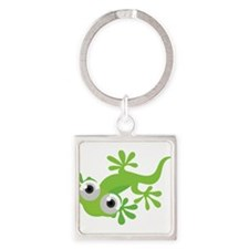 Cartoon Gecko Keychains
