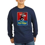 Loose Lips Sink Ships (Front) Long Sleeve Dark T-S