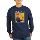 Rosie the riveter Long Sleeve Dark T-Shirts