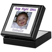 Fight SMA for Isabella Keepsake Box