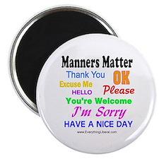 Manners Matter Magnet