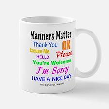 Manners Matter Mug