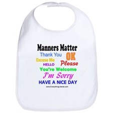 Manners Matter Bib