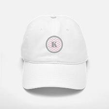 Pink Baseball Baseball Cap