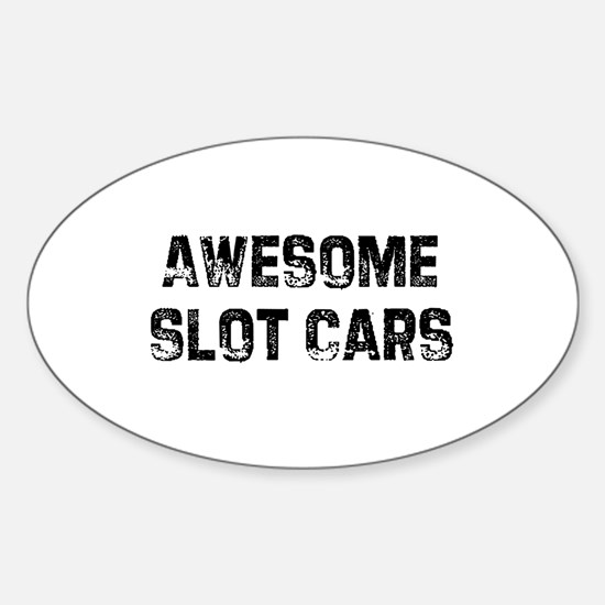Awesome Slot Cars Oval Decal